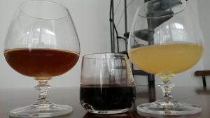 Les 3 premieres bières anat leur mise en bouteille